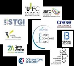 Acteurs de la matinée de la transition énergétique à l'Université de Franche Comté Belfort Montbéliard