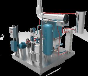 Conçu sur le principe du moteur Ericsson, l'Ecocompresseur d'Ananké est un module de cogénération qui permet la production simultanée d'air comprimé et de chaleur utile à partir de n'importe quelle source de chaleur supérieure à 450°C (chaleur fatale, combustion de biogaz…). Cette solution rend possible la valorisation des pertes thermiques, notamment dans les secteurs tels que la métallurgie, la verrerie ou la chimie.