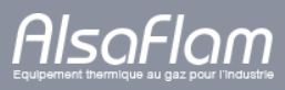 Société AlsacSociété Alsacienne, basée à Issenheim dans le Haut Rhin (68), Alsaflam étudie et fabrique à la demande des équipements thermiques destinés à équiper des processus industriels. L'entreprise propose une gamme de brûleurs à gaz industriels haute performance qui répondent aux besoins d'Ananké.